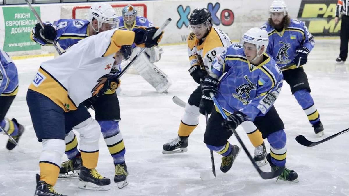 «Днепр» обыграл «Краматорск» в пропущенном матче второго тура Украинской хоккейной лиги