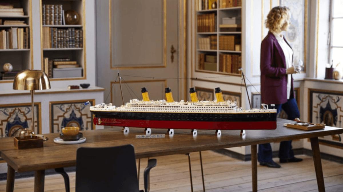 LEGO анонсировала новый конструктор «Титаник» на 9 тысяч деталей: длина копии корабля составит 1,3 метра