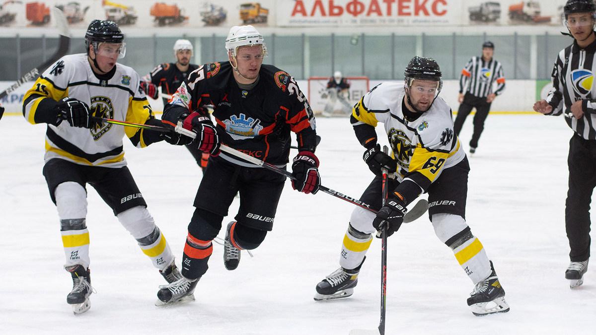 «Краматорск» и «Рулав Одд» свои матчи седьмого тура Украинской хоккейной лиги выиграли в серии буллитов