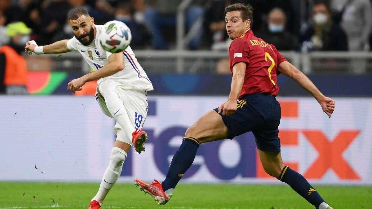 Франция обыграла Испанию и стала победителем Лиги наций УЕФА