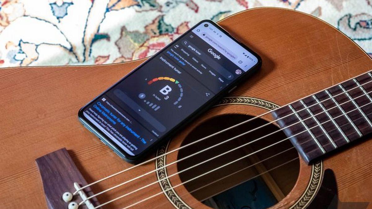 Google добавила тюнер для настройки гитары в результаты поиска