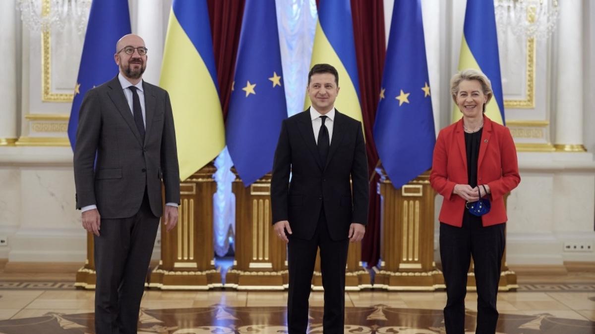 Саммит Украина-ЕС: участники договорились удвоить усилия для освобождения украинцев из российского плена