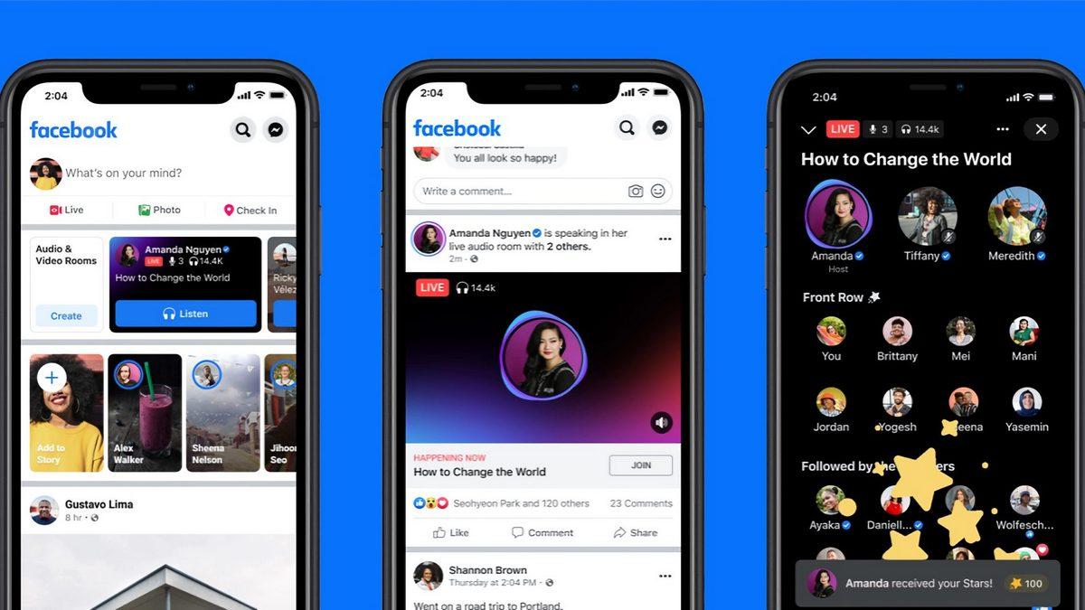 В Facebook появилась вкладка «Аудио» подкастами и живыми аудиозаписями