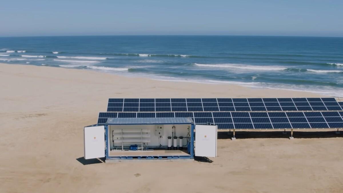 В Финляндии создали опреснительную систему на солнечных батареях