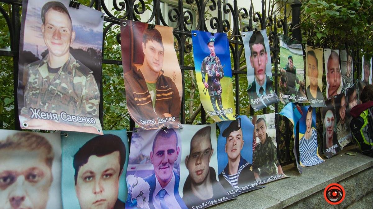Матери без вести пропавших и военнопленных вышли под стены Офиса Президента на 72-часовую акцию