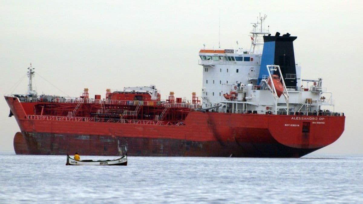 Возле берегов Болгарии затонуло судно с химикатами