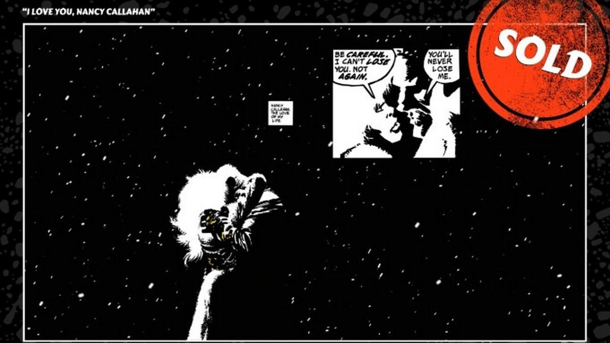 NFT-токен анимированного комикса «Город грехов» продали за $ 840 000