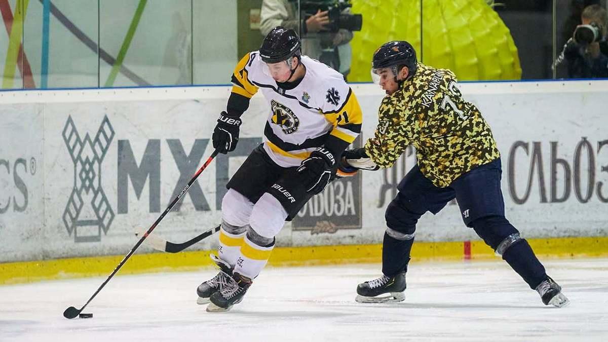 «Рулав Одд» уступил «Краматорску» в матче девятого тура Украинской хоккейной лиги