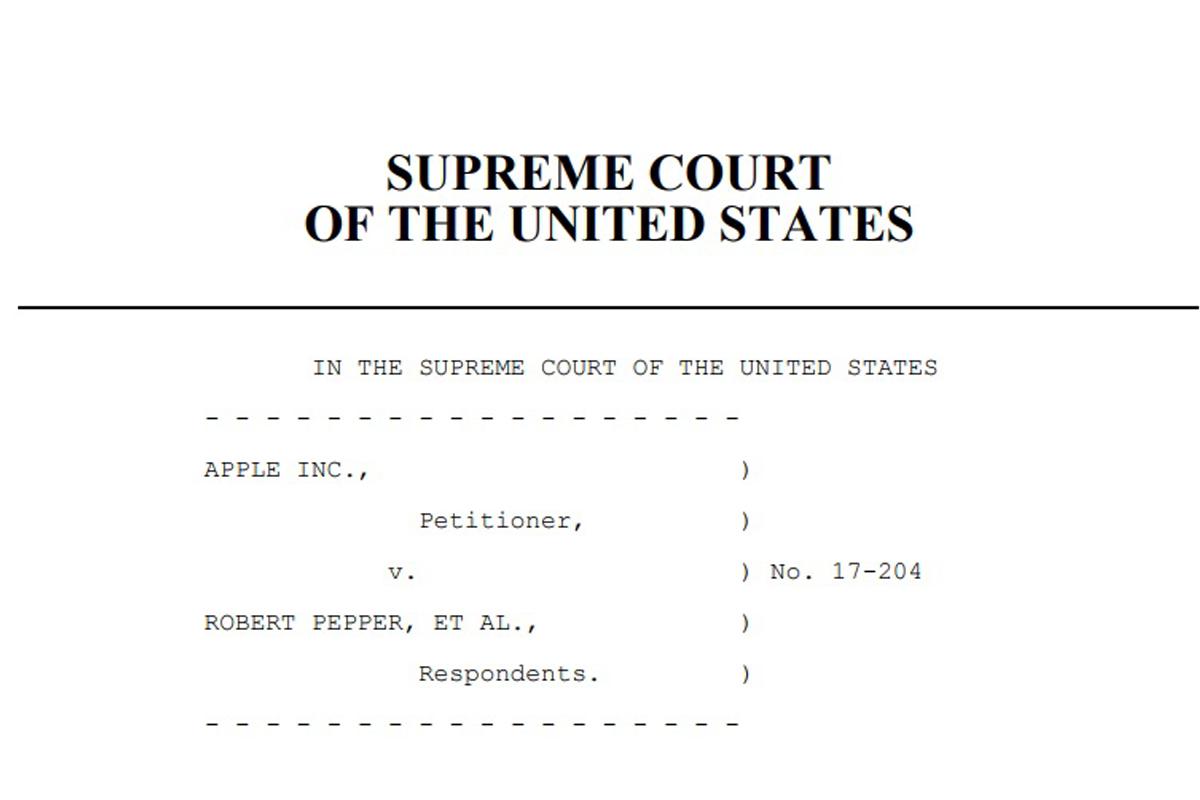 Верховный суд США рассматривает иск от пользователей iPhone