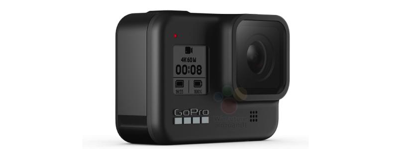 В сети появились дизайн и спецификации экшен-камер GoPro Hero 8 и GoPro Max