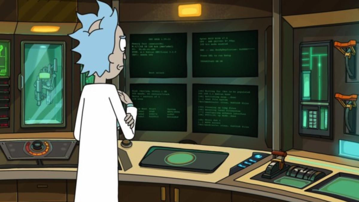 Каким компьютером пользуется Рик: безумная мощь