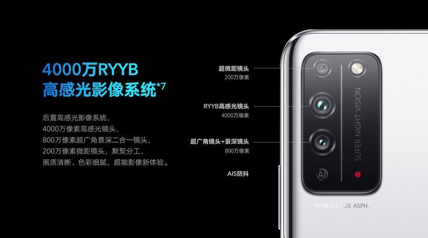 Основная камера получила три модуля с главным сенсоромSony IMX600на 40 Мп