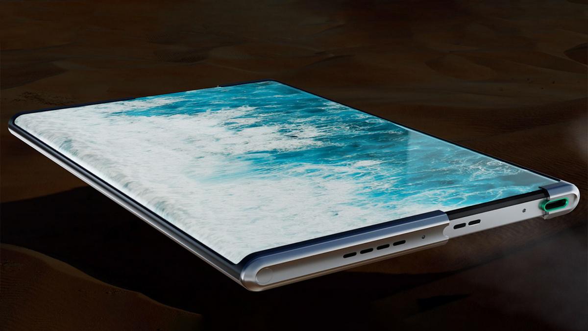 OPPO показала растягиваемый смартфон OPPO X 2021 в действии